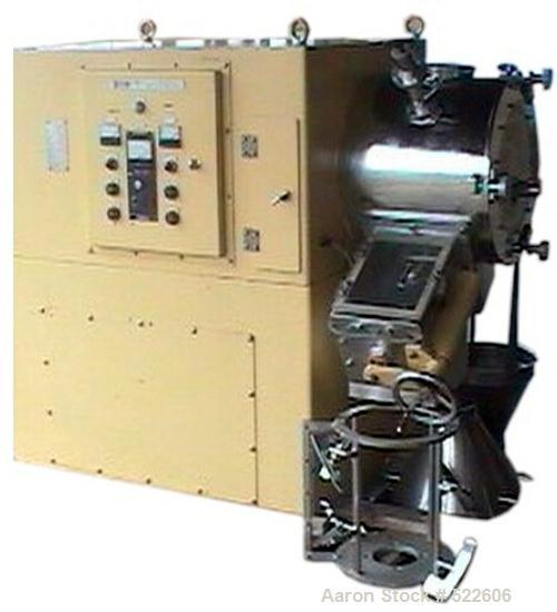 USED: LCI Spartan granulator, model RMO-35, and spray unit. Product contact parts in 304 stainless steel except anti-wear tr...