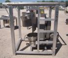 Used- Vector Colton Wet Granulator, model 561, 304 stainless steel. Approximate 12