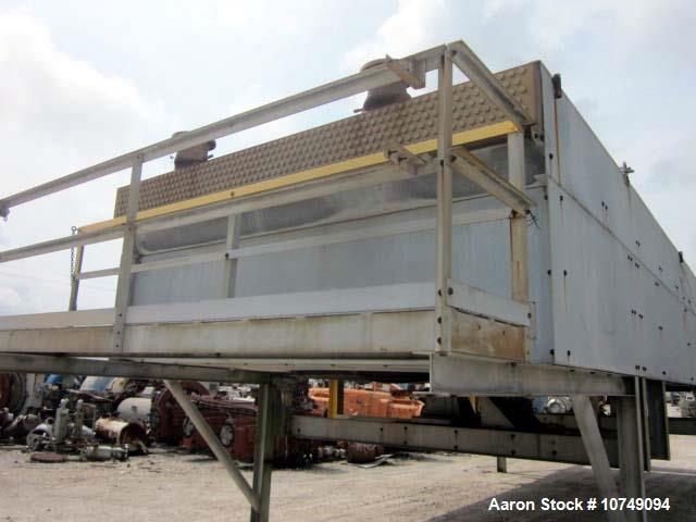 Used- Essex - Model 711438T12. ext. sq. ft. 83386, bare sq. ft. 3909, psi 75, temp 300F. Tube 304L stainless steel, 393 tube...