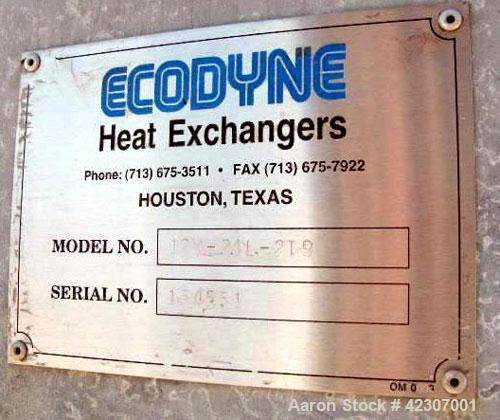 Used- Ecodyne Air Cooled Fin Fan Heat Exchanger, 1860 Extended Square Feet, 39,000 Bare Square Feet, Model 12W-24L-2T9, Carb...