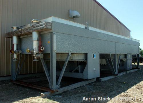 Used- Koch Industrial Coolers Fin Fan Heat Exchanger, Model FHV-36-11-210. 2,360 tube square footage, 46,992 total surface s...