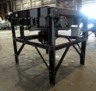 Used- IEA Remote Horizontal Cooler/ Radiator, Model HC025S28. Approximate 25 square feet, copper louvered core, model 9LJ6, ...