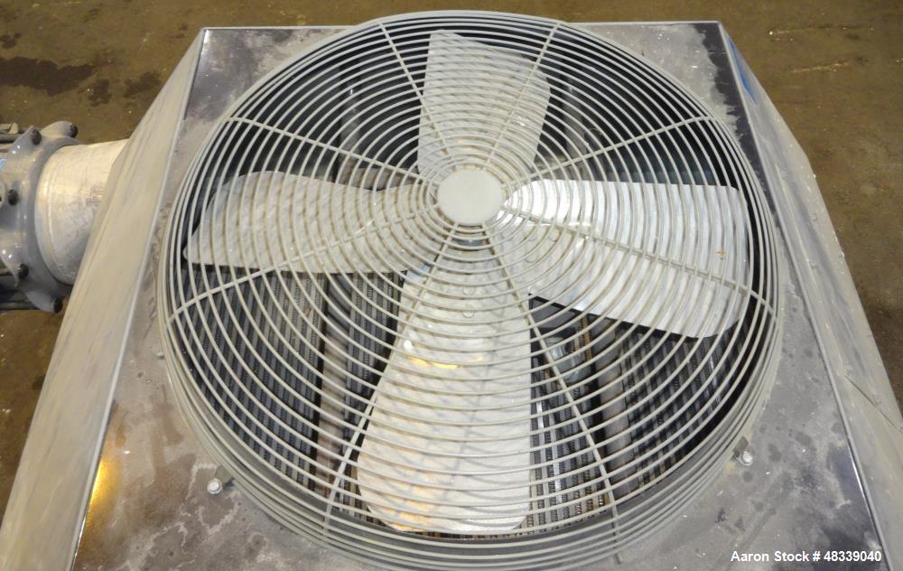 Used- XChanger AA Series Industrial Air Cooled Heat Exchanger, Model AA-2750, Part# 47874. Performance process air volumetri...
