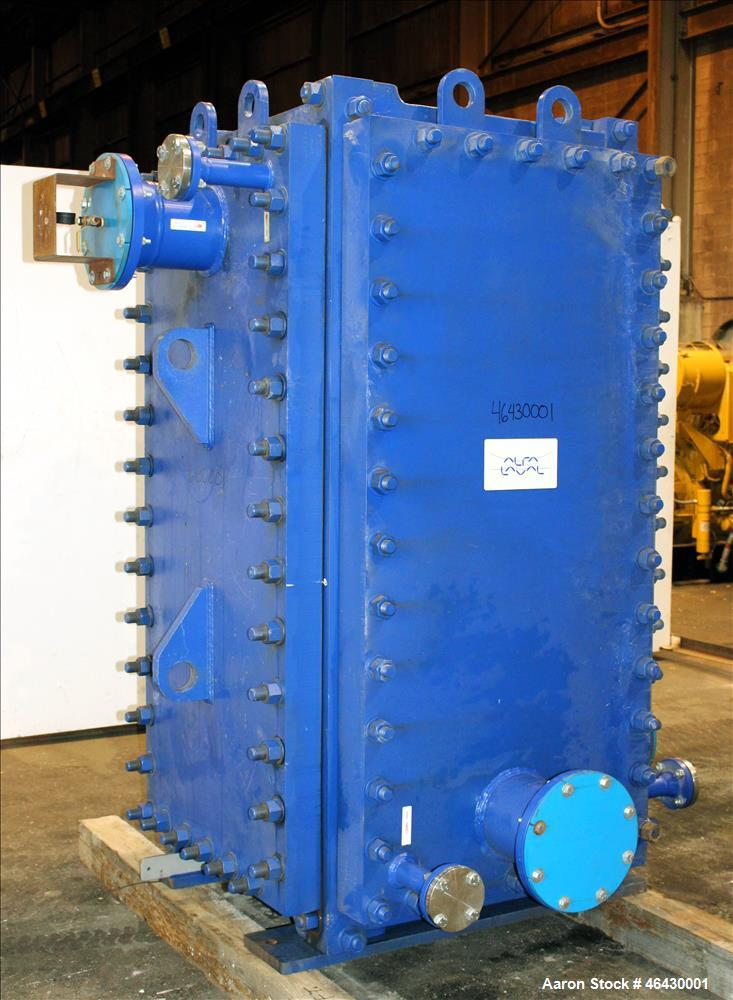 Unused- Alfa-Laval Compabloc Welded Plate Heat Exchanger, 2063.4 Square Feet Surface Area, Model CPL75-V-300, Vertical. (300...