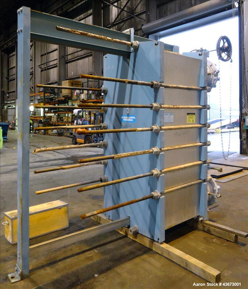 Used- Alfa Laval Thermal Paraflow Plate Heat Exchanger, Model M30-FG
