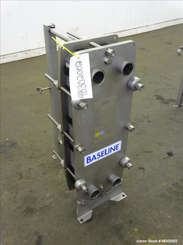 Unused- Alfa Laval Plate Heat Exchanger, Approximate 36.59 Square Feet (3.40 M2)