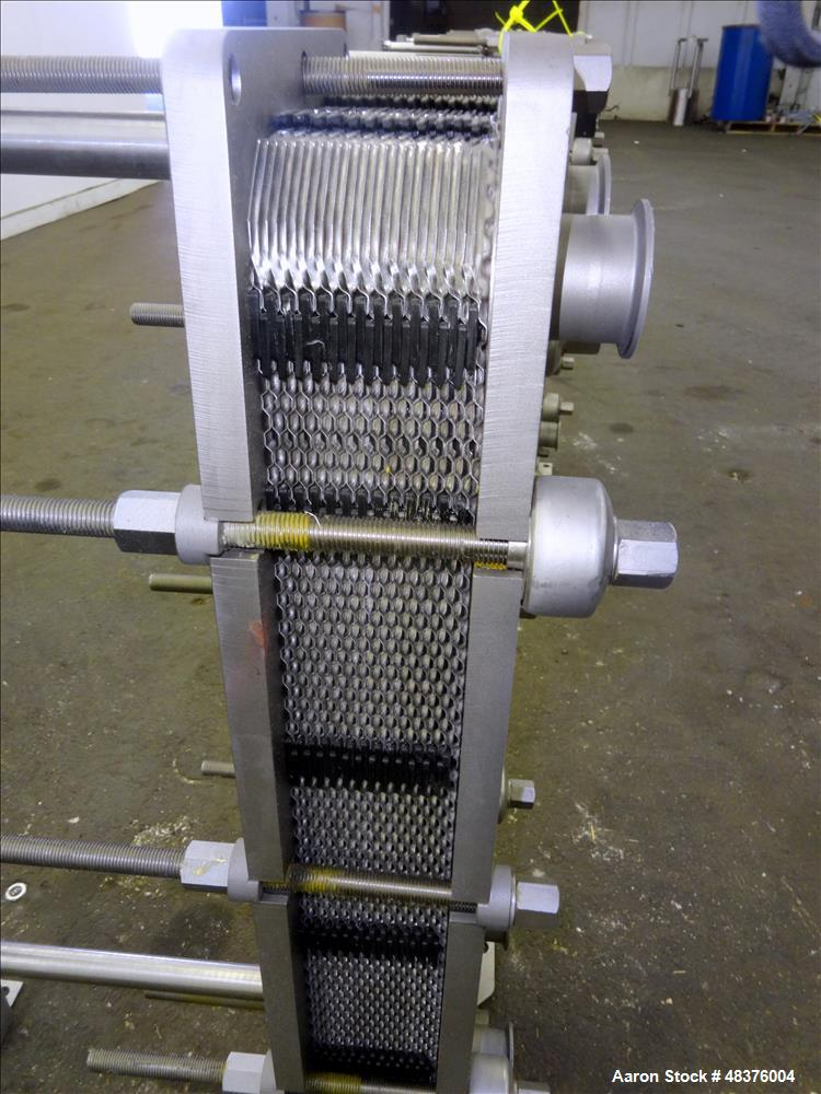 Unused- Alfa Laval Baseline Plate Heat Exchanger, Approximate 36.59 Square Feet