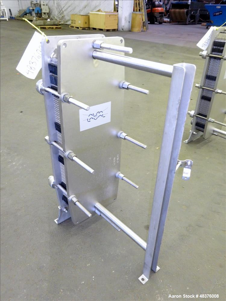 Unused- Alfa Laval Baseline Plate Exchanger, Approximate 36.59 Square Feet (3.40