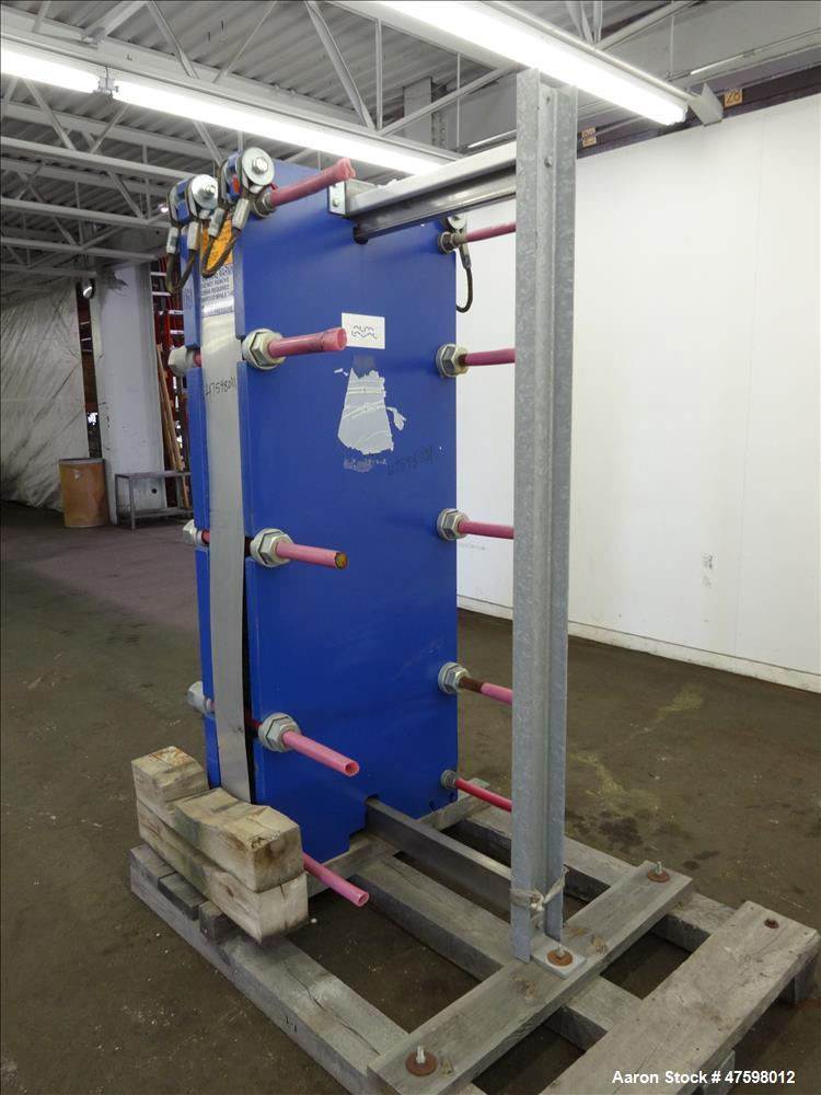 Unused- Alfa-Laval Plate Exchanger, 402.60 Square Feet, Model T20-MWFG.