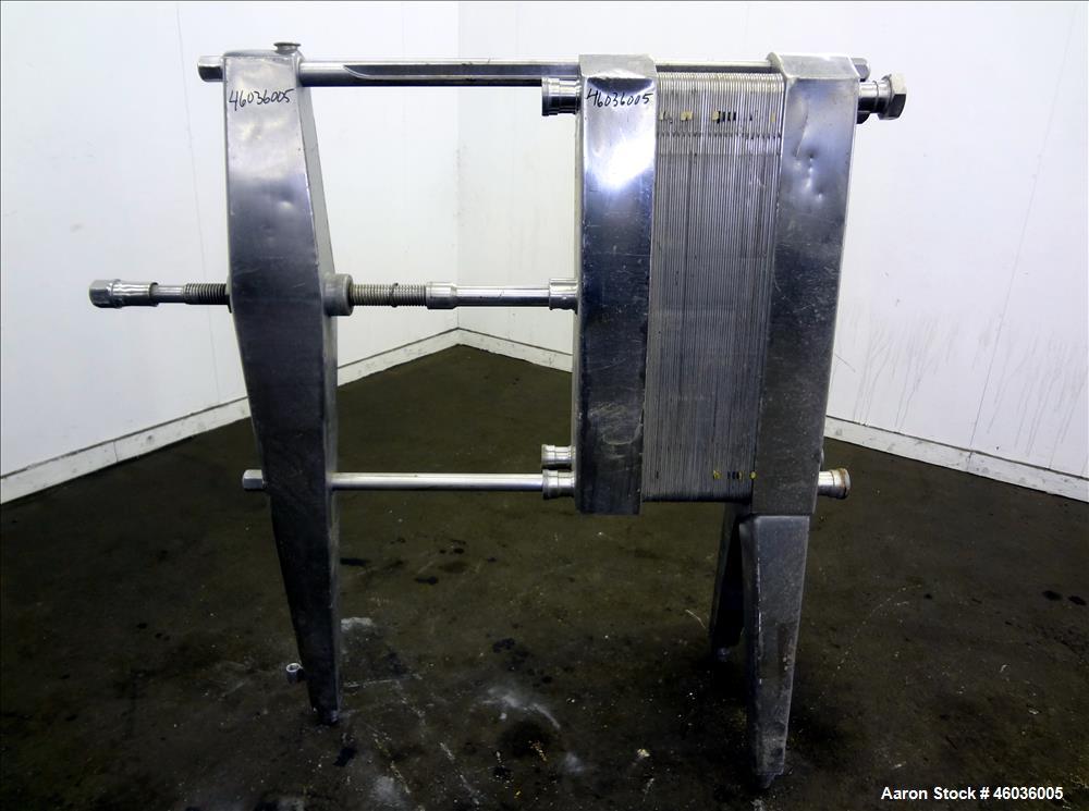 Used- APV Paraflow Plate Heat Exchanger, Type HX.