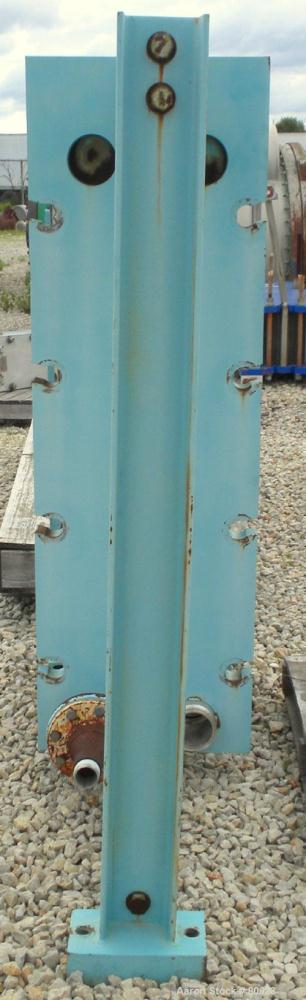 "Used- APV Plate Heat Exchanger, Approximately 878 Square Feet, Model R57, 316 Stainless Steel. (61) 16"" wide x 60"" tall plat..."