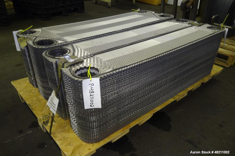 Used- Cherry Burrell Thermaflex Plate Heat Exchanger, Model 655 STH