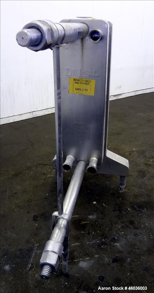 """Used- De Laval APV Paraflow Plate Heat Exchanger, Type HX, Approxmiate 150 square feet. (70) 9"""" wide x 36"""" long 316 Stainles..."""