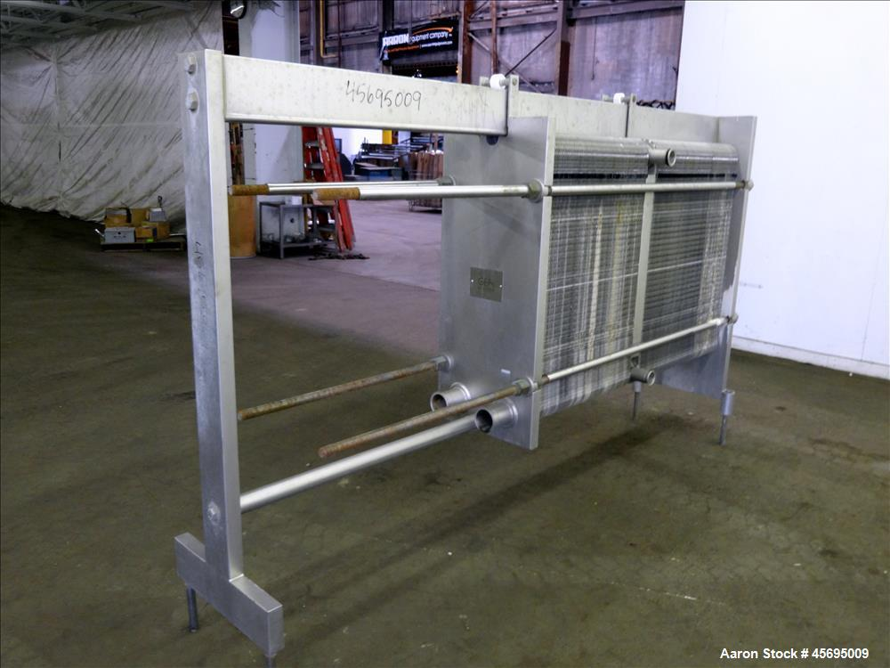 Used- GEA Ahlborn GMBH Varitherm Plate Heat Exchanger, Model VT20 L0CIN