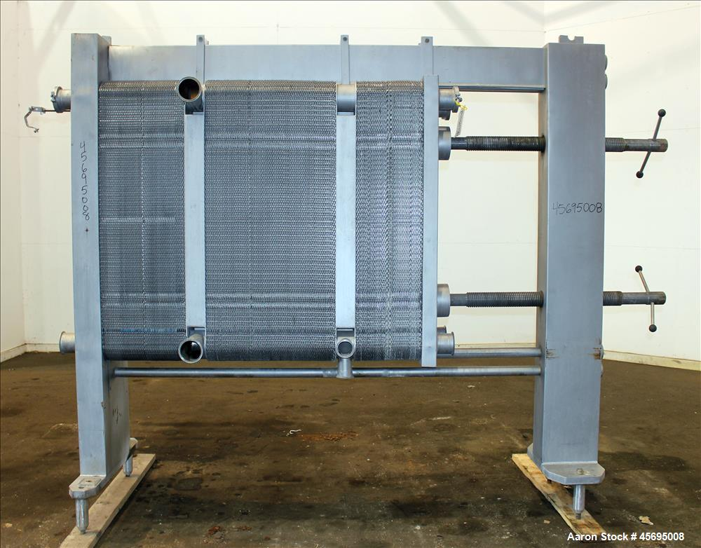 Used- GEA Ahlborn GMBH Varitherm Plate Heat Exchanger, Model VT40 L0CIN