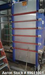 Used-Alfa Laval Plate Heat Exchanger. 5090.00 Sq.Ft. Surface Area. Model M30-FG. Approximate 259 .40MM Plates rated 150 PSI ...
