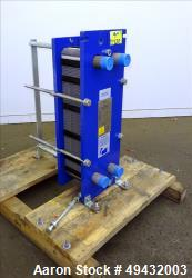 Unused- Alfa Laval Plate Exchanger 68 Square Feet, Model M6-MFG.
