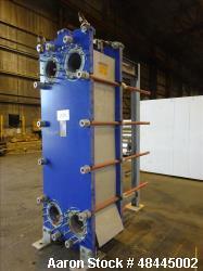 Used- Alfa Laval Plate Type Heat Exchanger, Model MX25-BFG, 2906 Square Feet