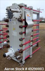 Used- Alfa Laval Plate Heat Exchanger, Model IZO-BWFS.