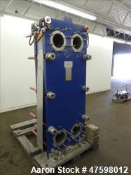Unused- Alfa-Laval Plate Exchanger, 402.60 Square Feet, Model T20-MWFG.