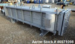 Used- Barriquand Echangeurs Platular Welded Plate Heat Exchanger, 862.81 Square Feet, Model DIXASP 13+12-12X2X3500X520, 316L...