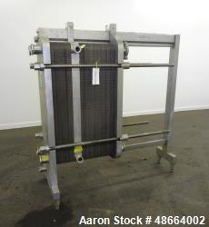 Used- Cherry Burrell Thermaflex Plate Heat Exchanger, Model 435CBL