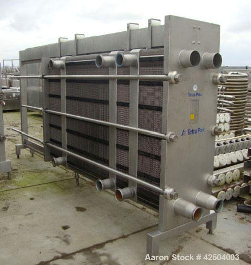 Used-TetraPak MS 15 Plate Heat Exchanger