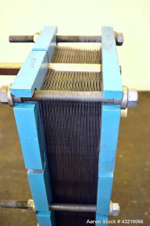 Used- Thermowave Plate Exchanger, Approximate 66 Square Feet, Model TL150 KBCL