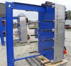 Used- Alfa Laval Vicarb Plate Exchanger, 769.6 Square Feet, Model V110-SST-100. Duty 6577 KBTU/H. (67) Approximately 36'' wi...