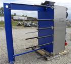 Used- Alfa Laval Vicarb Plate Exchanger, 1610.3 Square Feet, Model V110-SST-200. Duty 12780 KBTU/H. (139) Approximately 36''...