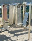Used- Cherry Burrell Plate Heat Exchanger, Model SLAS-100. Approximately 250 square feet, 304 stainless steel. (94) 13 1/2