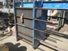 Used- Tranter PHE Plate Heat Exhanger, 1091.03 sqft. Stainless steel plates.  Max: 100 psi @ 150 deg F.  NB# 50320. Yr. 2008.