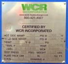 Unused- WCR Incorporated Plate Heat Exchanger