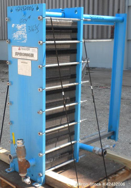 Used- Tranter Plate Heat Exchanger, 544.65 Square Feet, Model GXD-042-L-5-KP-117