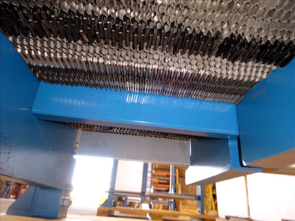 Used- WCR Incorporated Plate Heat Exchanger, Model WCR-A891M, 741.1 Square Feet,
