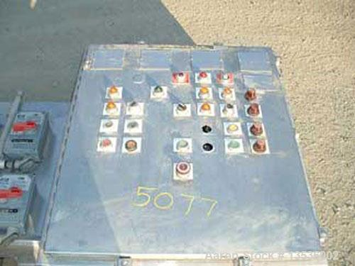 Used-Alfa Laval Contherm Scraped Surface Heat Exchanger, 6 x 9 Contherm, control panel, stainless steel product contact, 10 ...