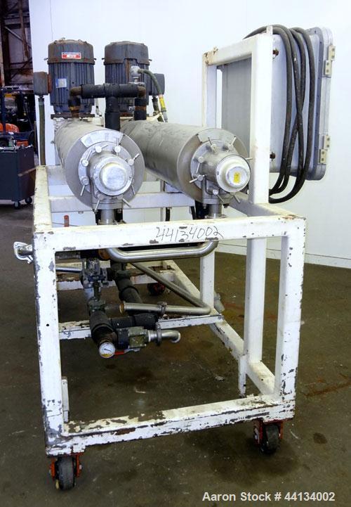 Used- Stainless Steel Chemetron Votator Scraped Surface Heat Exchange