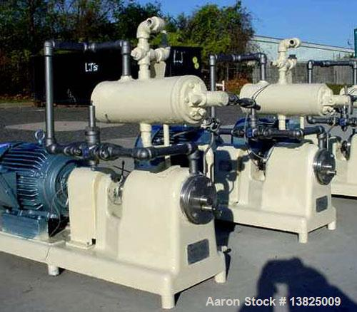 Used-Votator margarine pilot plant scraped wall heat exchanger, stand alone, manufactured by Cherry Burrell, model 1C312-A h...