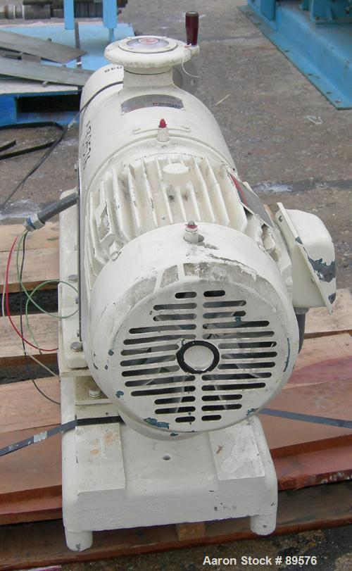 Used: Stainless Steel Cherry Burrell Votator scraped surface heat exchanger. .7
