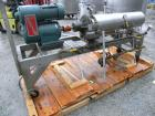 Used- Chemetron Votator Scraped Surface Heat Exchanger, 6 square feet, 304 stainless steel. (1) Approximately 6