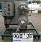 Used- Stainless Steel Twin Tube Scrape Surface Heat Exchanger