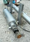 Used: Stainless Steel Alfa Laval Contherm scraped surface heat exchanger, 6 sq ft, model 6 x 6