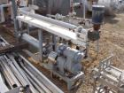 USED: Chemetron Process Equipment Votator scraped surface heat exchanger. Top cylinder is 6