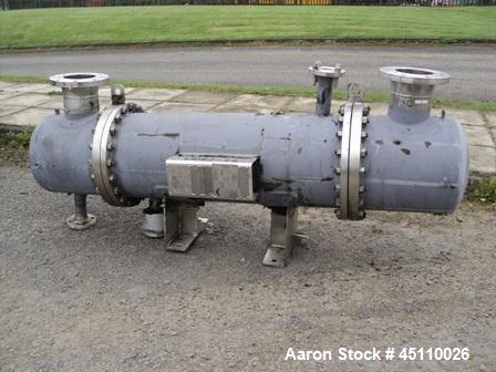 Used-Atlas approximately 12sqmt horizontalshell and tube heat exchanger