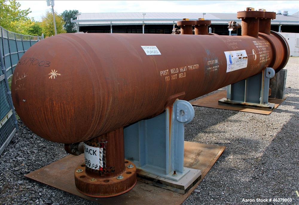 Unused- Luigi Resta Shell and Tube Heat Exchanger, 1,573 Square Feet, Carbon Ste