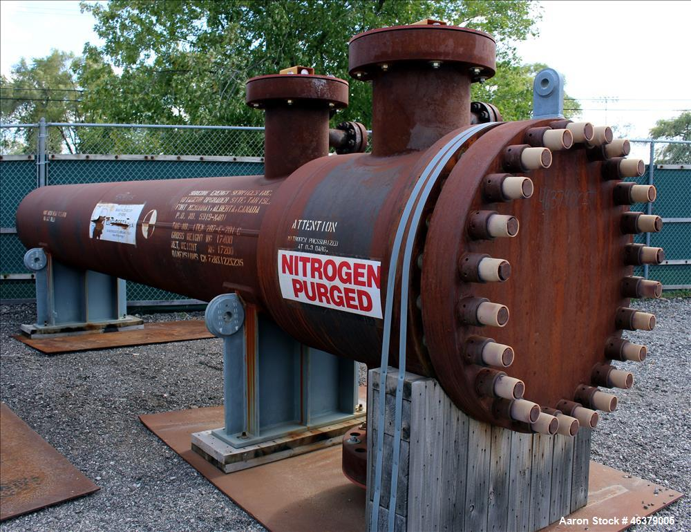 Unused Shell and Tube Heat Exchanger, Horizontal