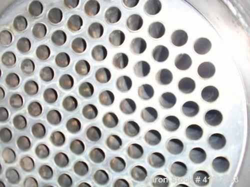 Used- API Ketema Shell and Tube Heat Exchanger, 222 square feet, horizontal, type 1-V-1 BEM, size 12-A-108. Carbon steel she...