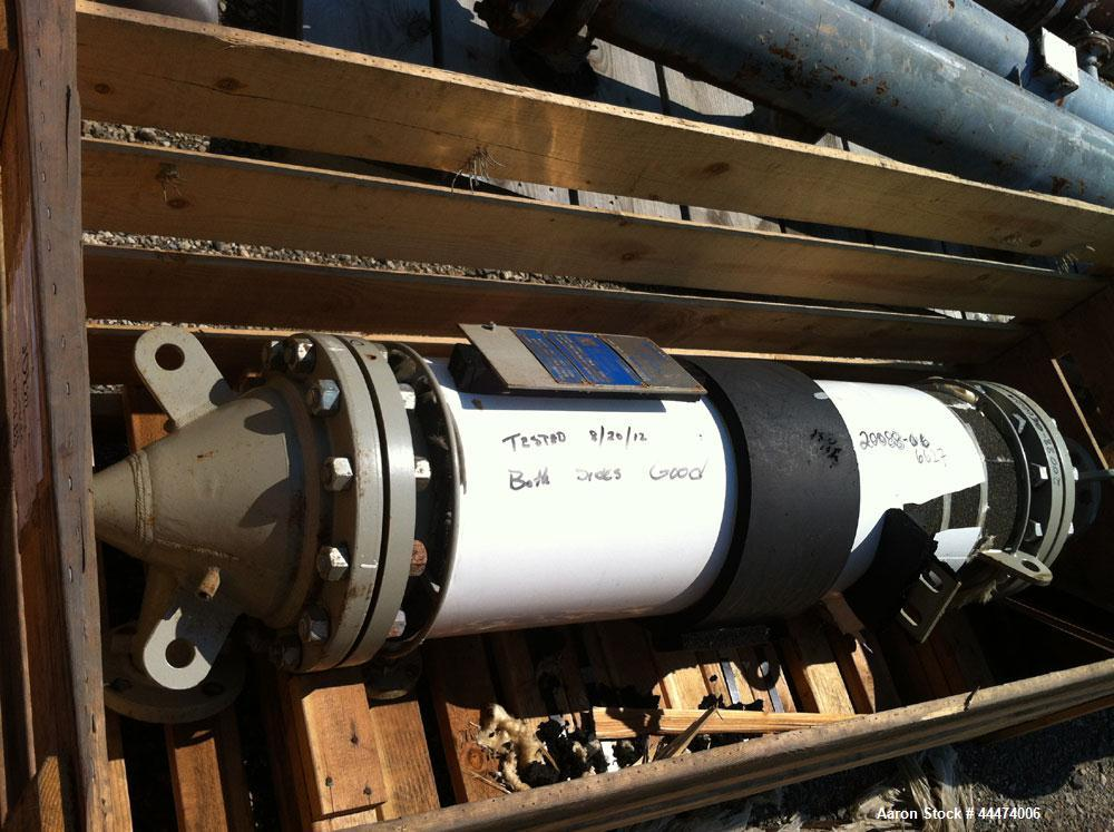 "Used- AstroCosmos Shell & Tube Heat Exchanger, 35 Square. Feet, Vertical. Type BEM-10-1-48. (45) 3/4"" Diameter x 48"" long Ta..."