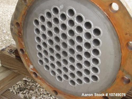 Used-Brighton Heat Exchanger, shell and tube