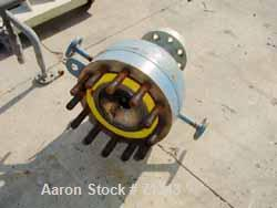 Used- Chemineer Single Pass Shell and Tube Heat Exchanger, 32 Square Feet, Horizontal. Carbon steel shell rated 200 psi at 4...